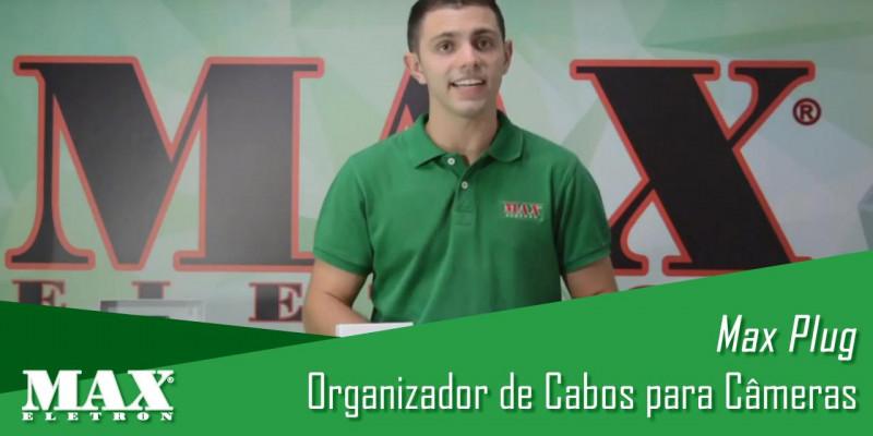 Max Plug Max Eletron - Organizador de Cabos para Câmeras