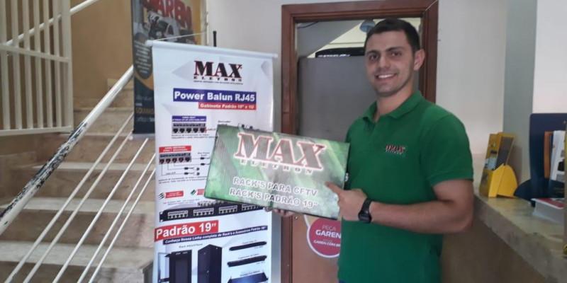 Parceria de sucesso MAX Eletron e SÓ PORTÕES Campinas