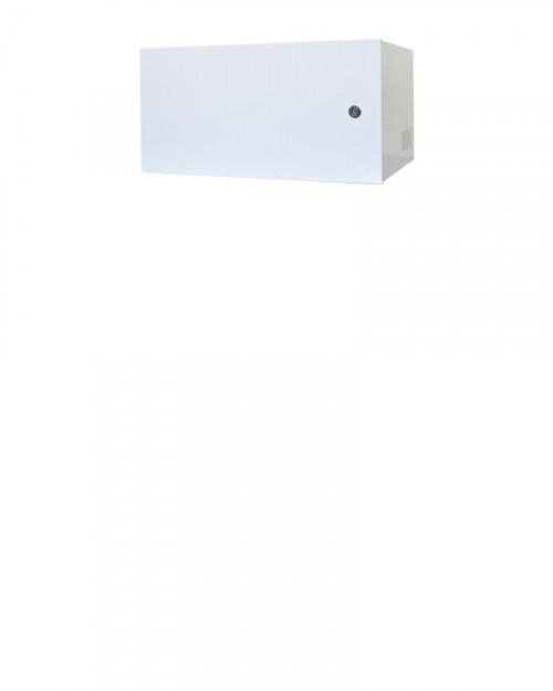 Mini Rack 5u x 350mm Economic Porta Fechada Branco