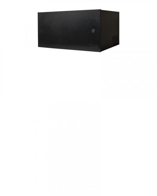 Mini Rack 5u x 350mm Economic Porta Fechada Preto