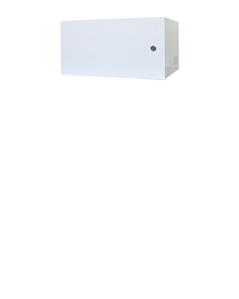 Mini Rack 5u x 350mm Economic Porta Fechada Branco
