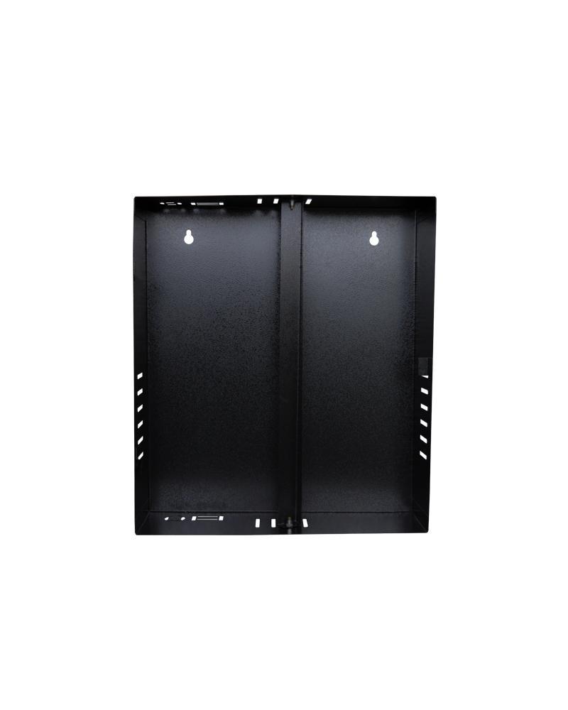 Caixa Metálica Vertical Mini Fine Preta