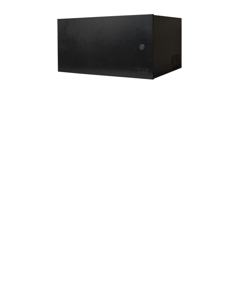 Mini Rack 5u x 350mm Economic Porta Fechada Preto